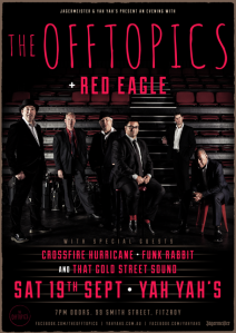 The Offtopics and Red Eagle at Yah Yah's